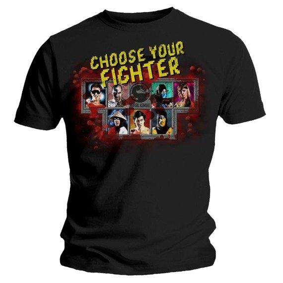 koszulka MORTAL KOMBAT - CHOOSE YOUR FIGHTER