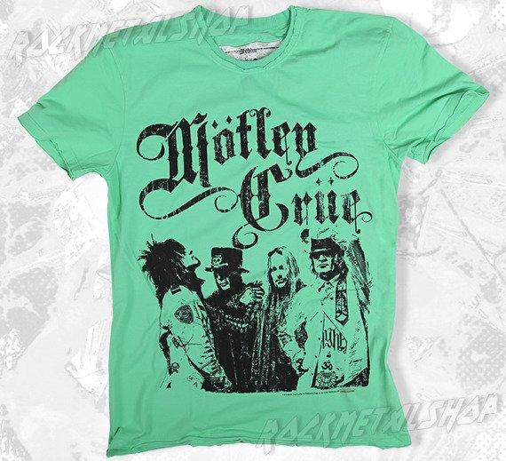 koszulka MOTLEY CRUE - STICKY SWEET zielona