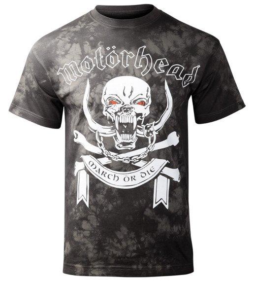 koszulka MOTORHEAD - MARCH OR DIE barwiona