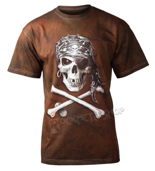 koszulka PIRATE SKULL barwiona