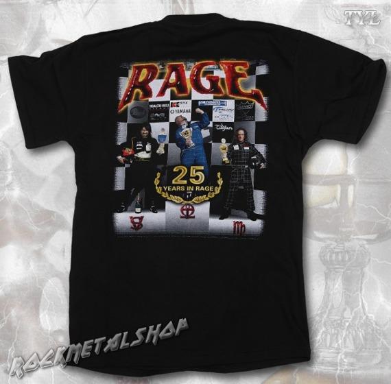 koszulka RAGE - 25 YEARS