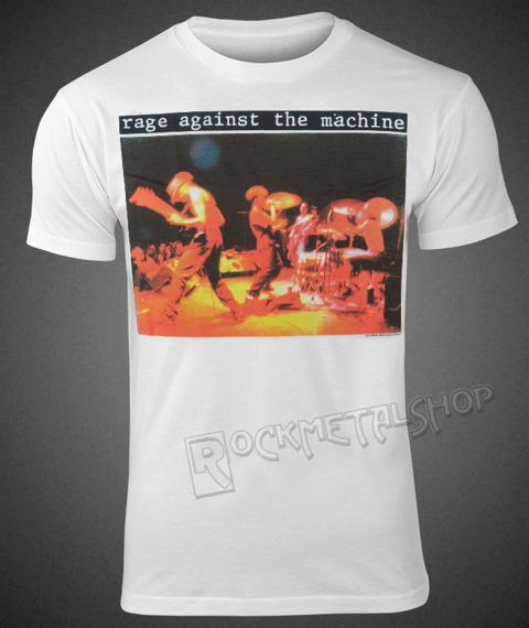 koszulka RAGE AGAINST THE MACHINE - GIFT WHITE