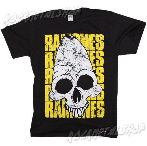 koszulka RAMONES - PINHEAD YELLOW WORDS