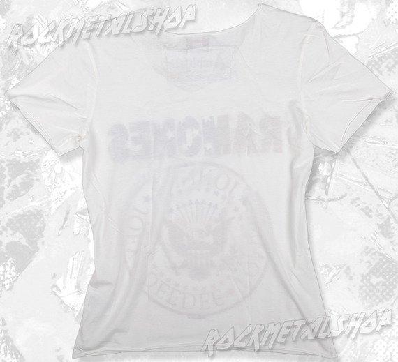 koszulka RAMONES - USA biała