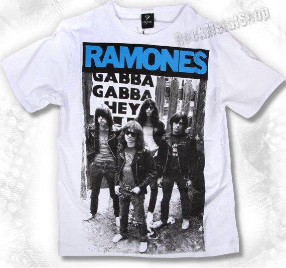 koszulka RAMONES biała