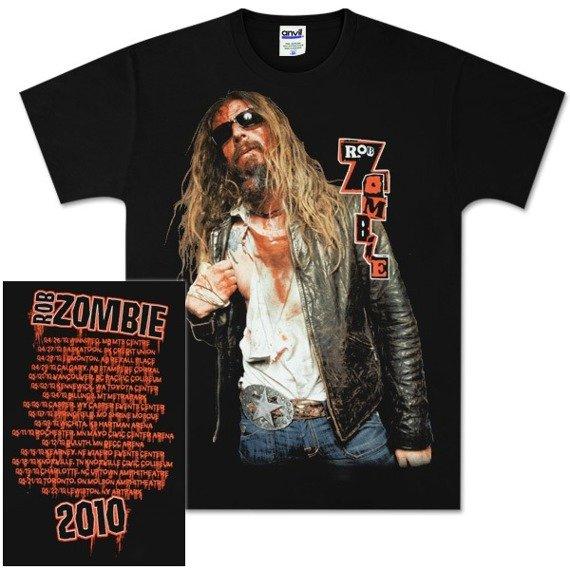 koszulka ROB ZOMBIE - BLOODY ROB TOUR 2010