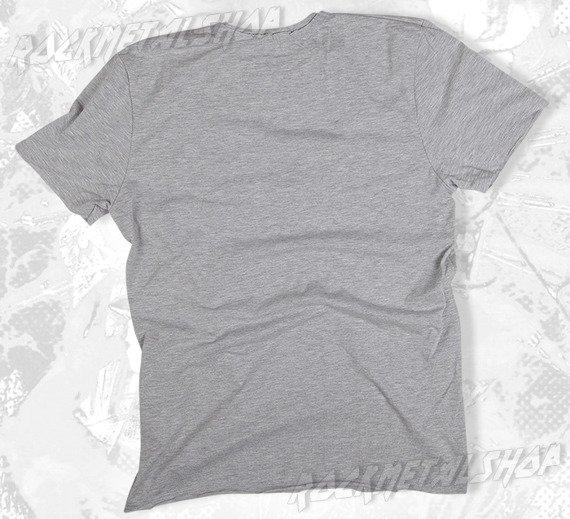 koszulka ROLLING STONES - CUBA DIAMANTE szary melanż