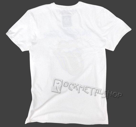 koszulka ROLLING STONES - LICK biała