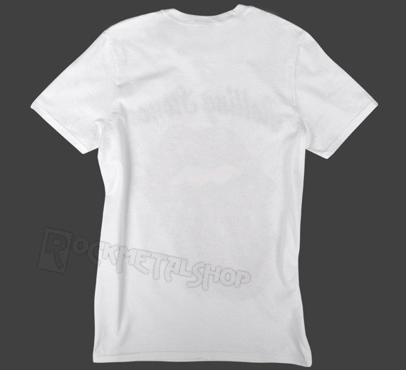 koszulka ROLLING STONES - TATTOO FLASH biała