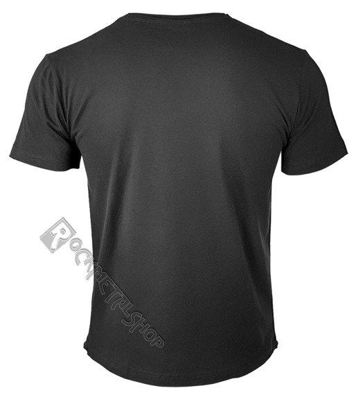 koszulka ROLLING STONES - UK TONGUE ciemnoszara