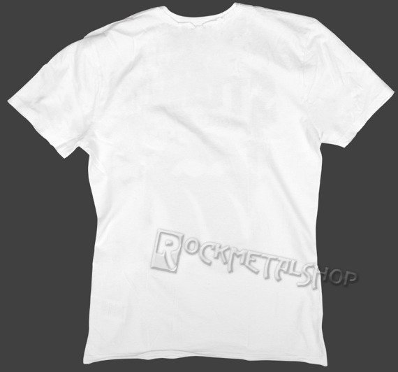 koszulka ROLLING STONES - WORLD TOUR biała