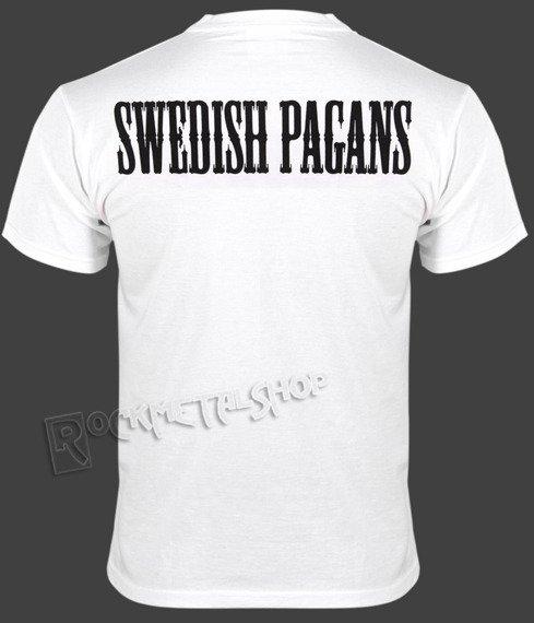 koszulka SABATON - SWEDISH PAGANS (WHITE)