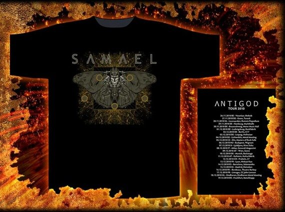 koszulka SAMAEL- MOTH