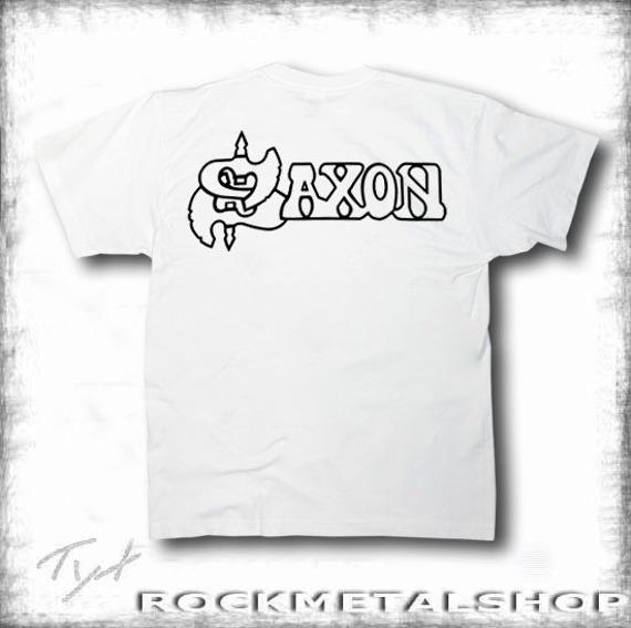 koszulka SAXON - LOGO