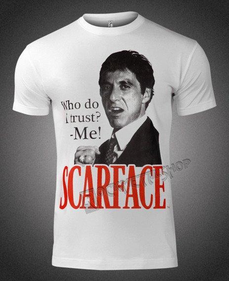 koszulka SCARFACE - WHO DO I TRUST