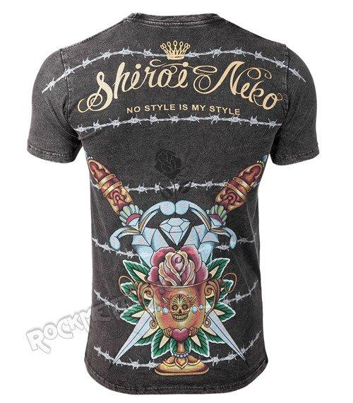 koszulka SHIROI NEKO - HOLD IT (BLACK VINTAGE)