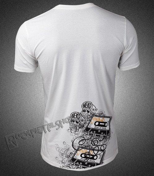 koszulka SHIROI NEKO - MESSIN (WHITE)