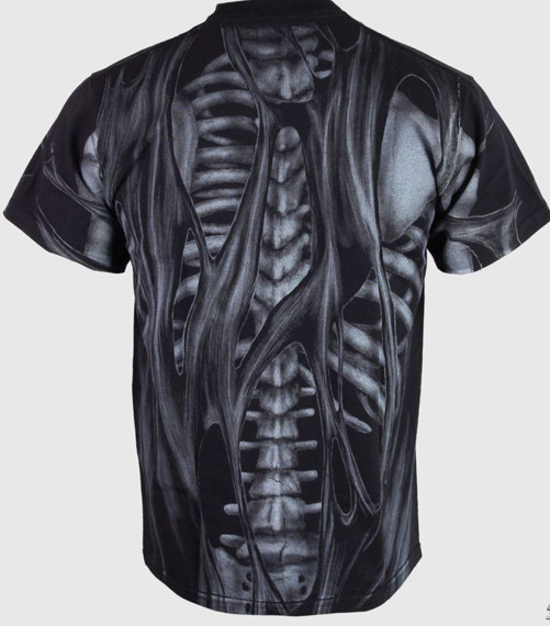 koszulka SKELETON - ZOMBIE