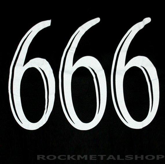koszulka SKULL 666