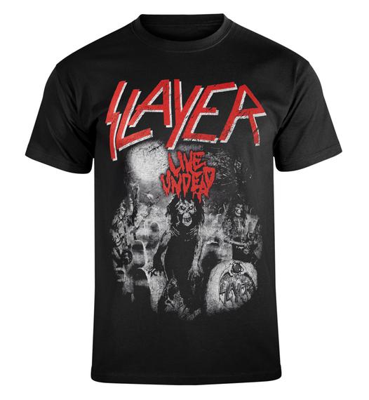 koszulka SLAYER - LIVE UNDEAD