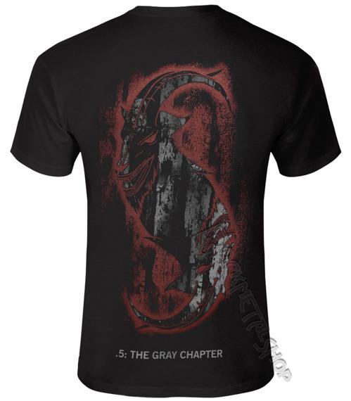 koszulka SLIPKNOT - THE GRAY CHAPTER STAR