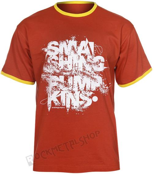 koszulka SMASHING PUMPKINS - LOGO ceglasta
