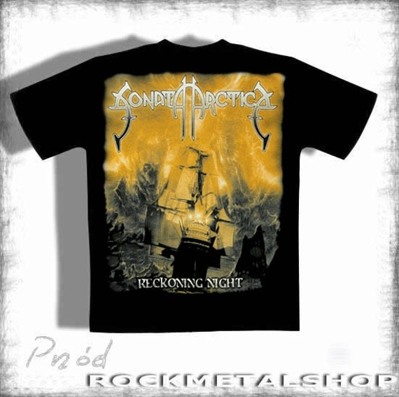 koszulka SONATA ARCTICA - RECKONING NIGHT