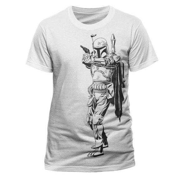 koszulka STAR WARS - FETT OUTLINE