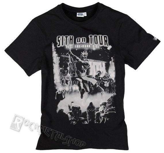 koszulka STAR WARS - SITH ON TOUR czarna