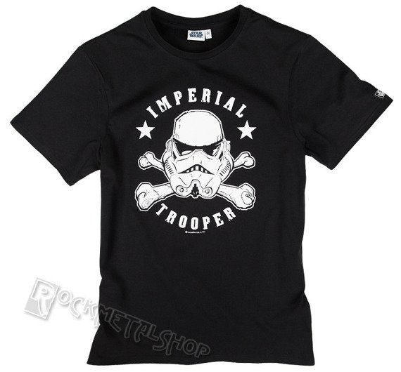 koszulka STAR WARS - STORMTROOPER SKULL HEAD czarna