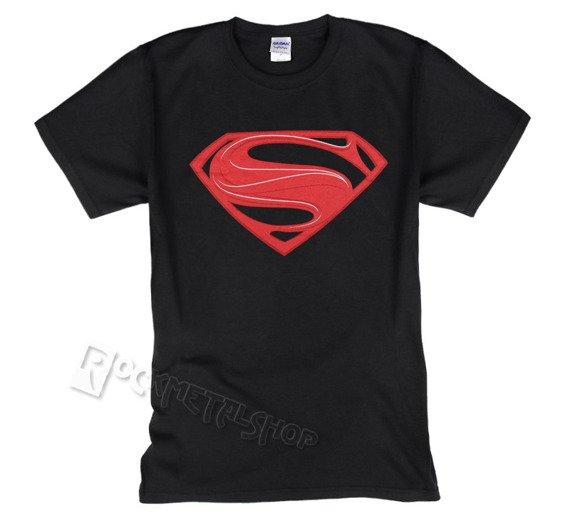 koszulka SUPERMAN - MAN OF STEEL - RED LOGO