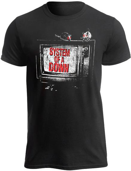 koszulka SYSTEM OF A DOWN - TV