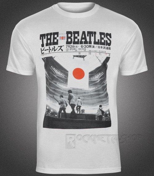 koszulka THE BEATLES - LIVE AT THE BUDOKAN white