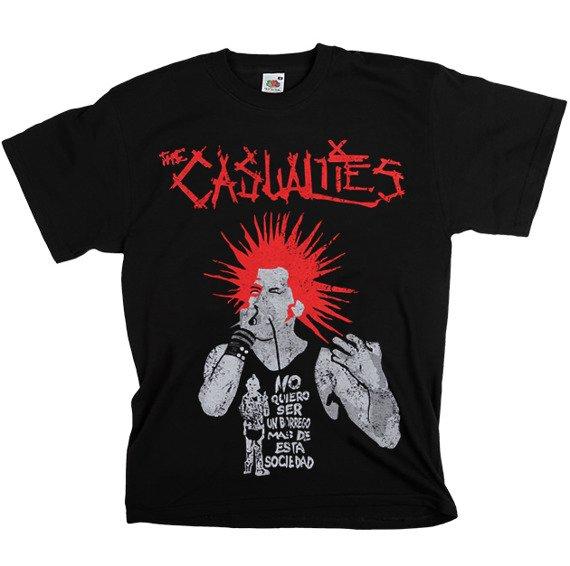 koszulka THE CASUALTIES - NO QUIERO...