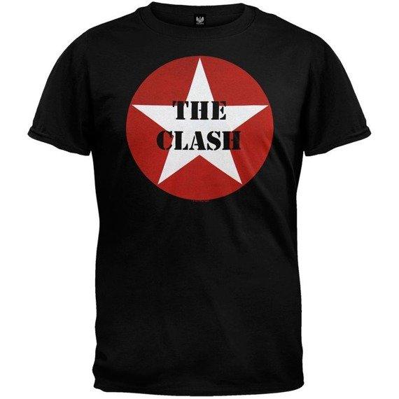 koszulka THE CLASH - STAR LOGO