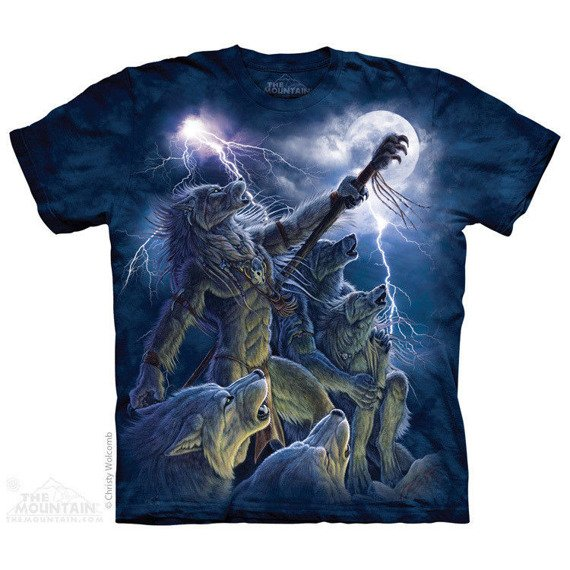 koszulka THE MOUNTAIN - CALLING THE STORM, barwiona