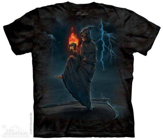 koszulka THE MOUNTAIN - DEATHBALL, barwiona