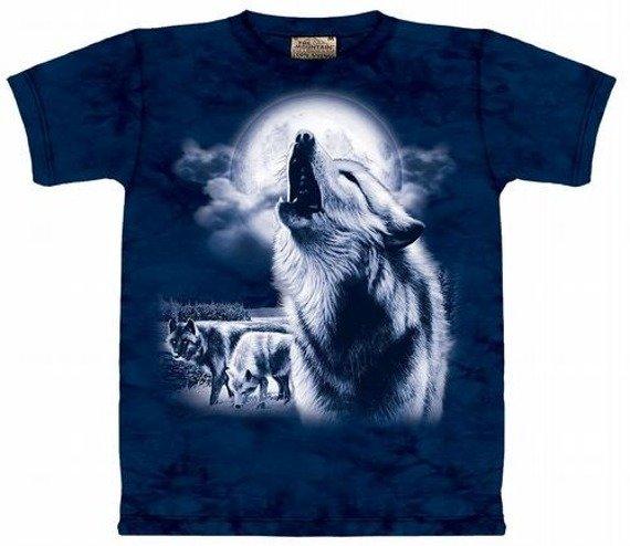 koszulka THE MOUNTAIN - FULL MOON WOLVES