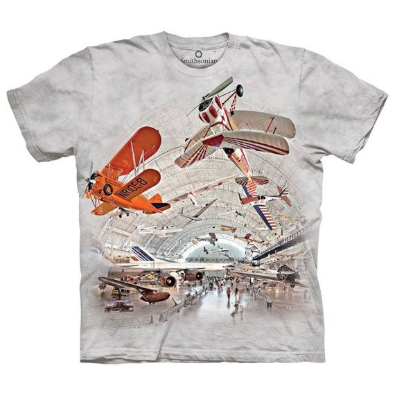 koszulka THE MOUNTAIN - HANGAR, barwiona