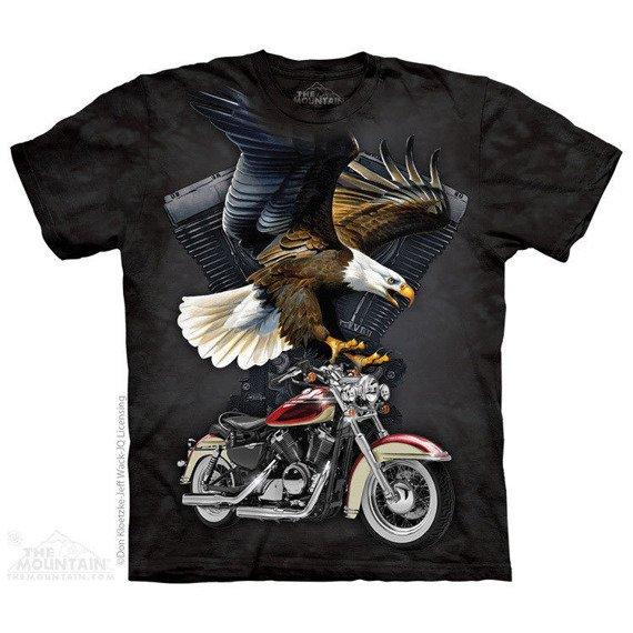 koszulka THE MOUNTAIN - IRON EAGLE, barwiona