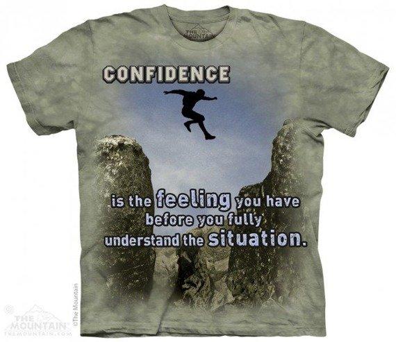 koszulka THE MOUNTAIN - JUMPER OUTDOOR, barwiona