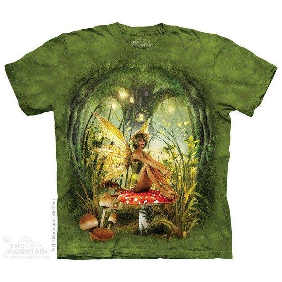 koszulka THE MOUNTAIN - TOADSTOOL FAIRY, barwiona