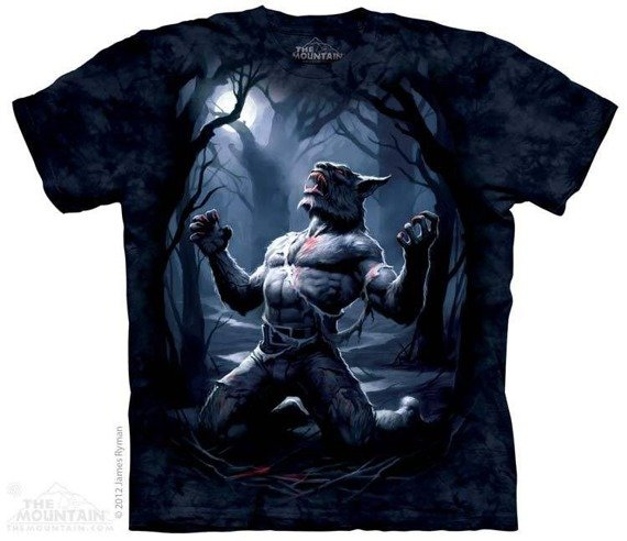 koszulka THE MOUNTAIN - TRANSFORMATION, barwiona