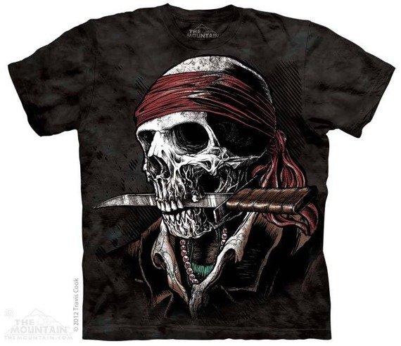 koszulka THE MOUNTAIN - UNDEAD PIRATE, barwiona