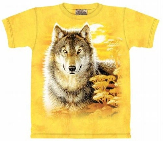koszulka THE MOUNTAIN - WOLF GAZE