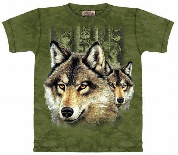 koszulka THE MOUNTAIN - WOLF PACK