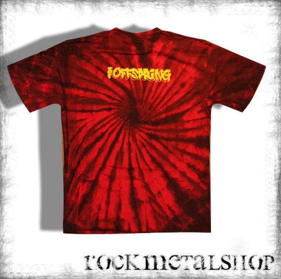 koszulka THE OFFSPRING barwiona