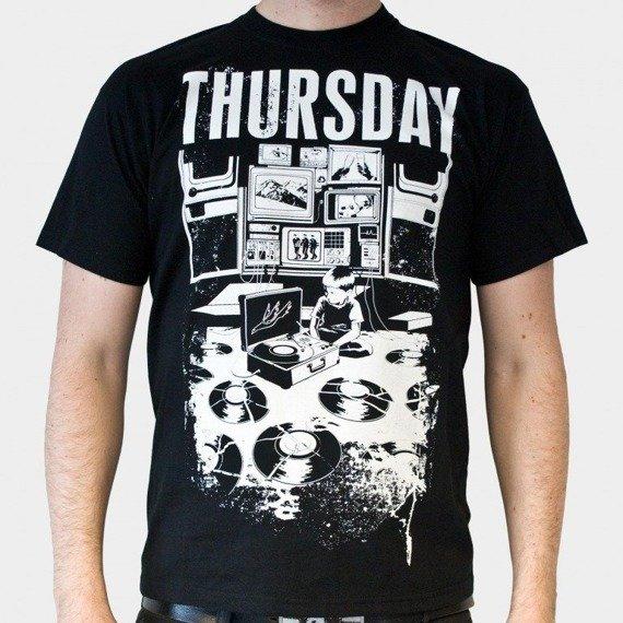 koszulka THURSDAY - BROKEN VINYL (BLACK)