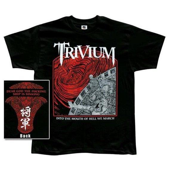 koszulka TRIVIUM - INTO THE MOUTH