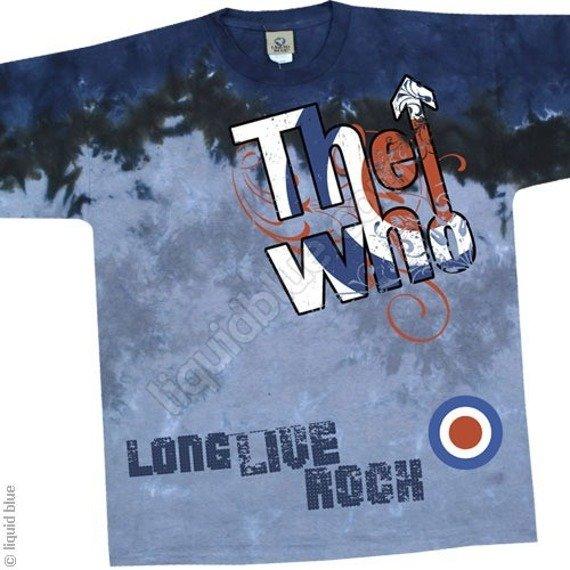 koszulka The Who-BE IT DEAD OR ALIVE barwiona